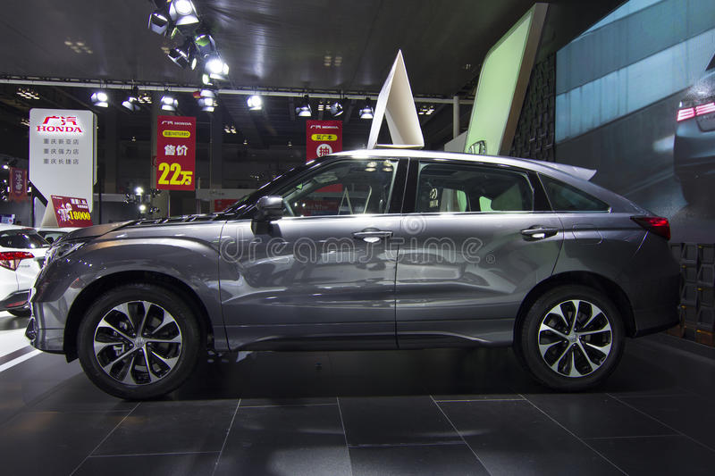 Auto show — Honda AVANCIER. The 2017 Chongqing lnternational Auto Consumption Exhibition.Honda AVANCIER. Photo taken April 10, 2017, in Chongqing, china stock image