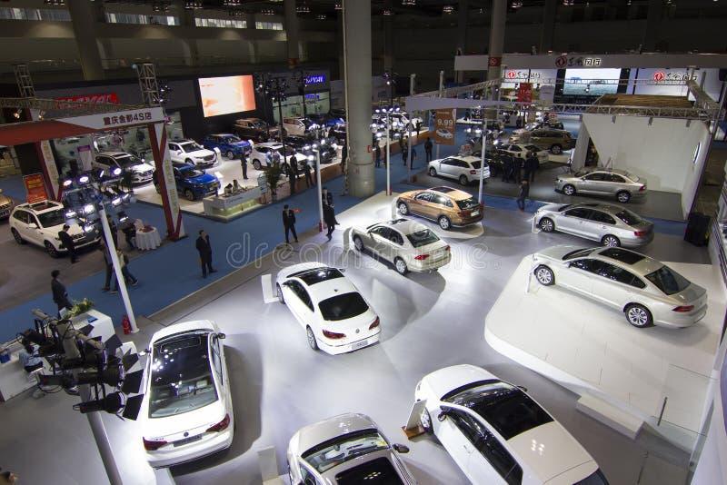 Auto show royaltyfria bilder