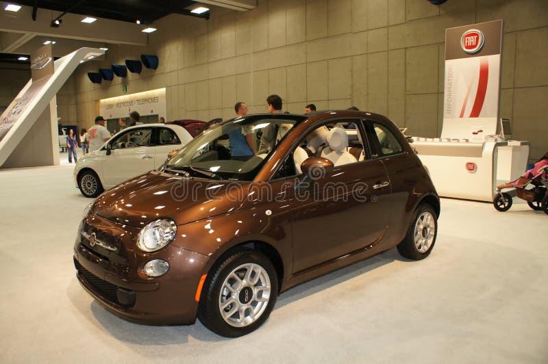 Auto Show Fiat royalty free stock photo