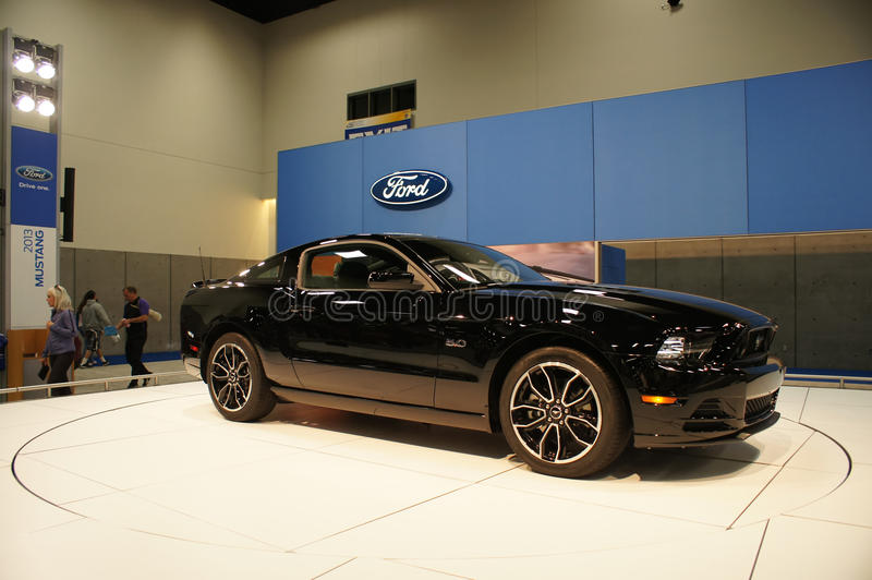 Download Auto Show Ford Mustang editorial image. Image of sport - 22689285