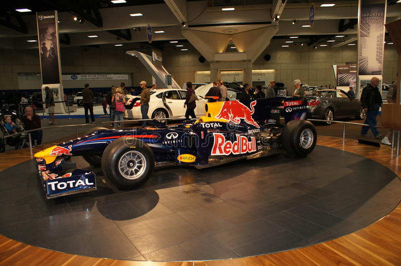 Auto Show Formula 1 Car stock images