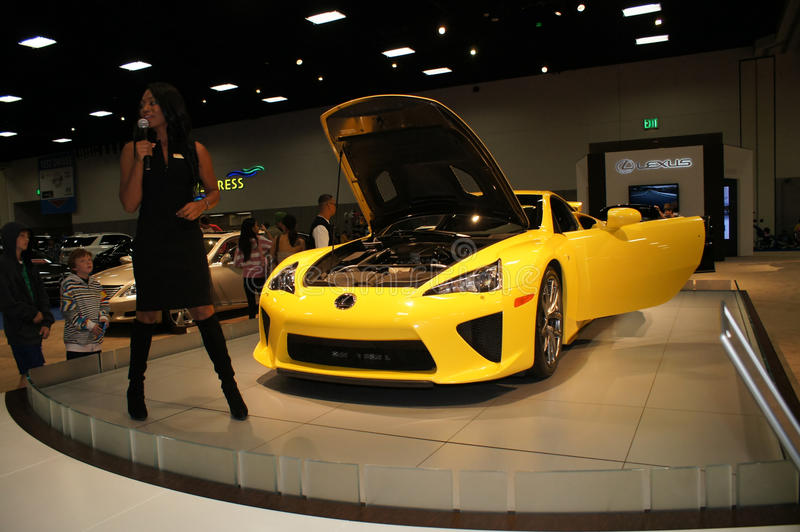 Download Auto Show LFA Editorial Stock Photo - Image: 22688998