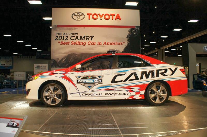 Auto Show Toyota Camry stock photo