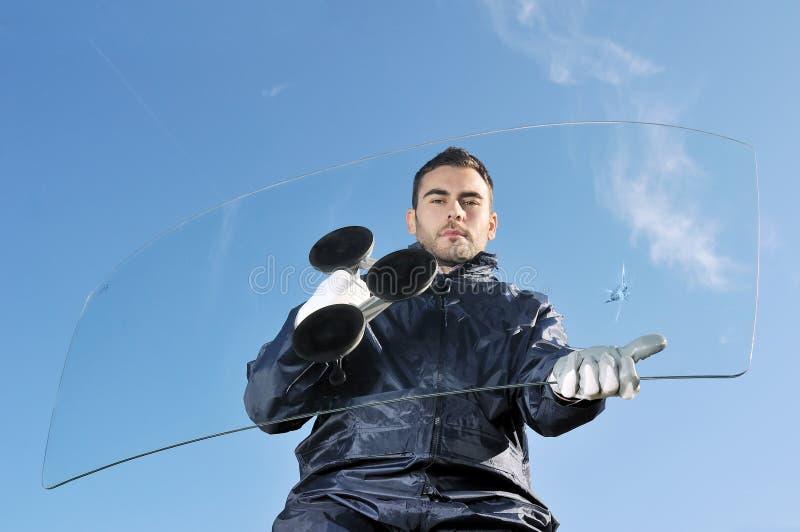 auto skadlig exponeringsglas royaltyfri fotografi