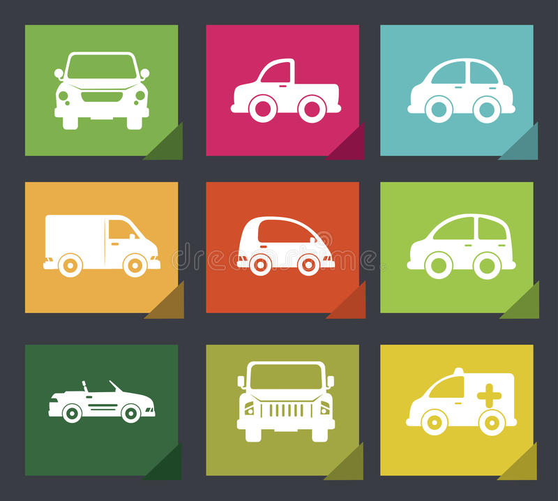 Auto'sontwerp vector illustratie