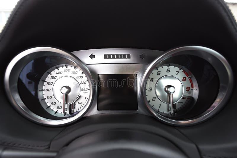 Auto Speedodetail lizenzfreie stockbilder