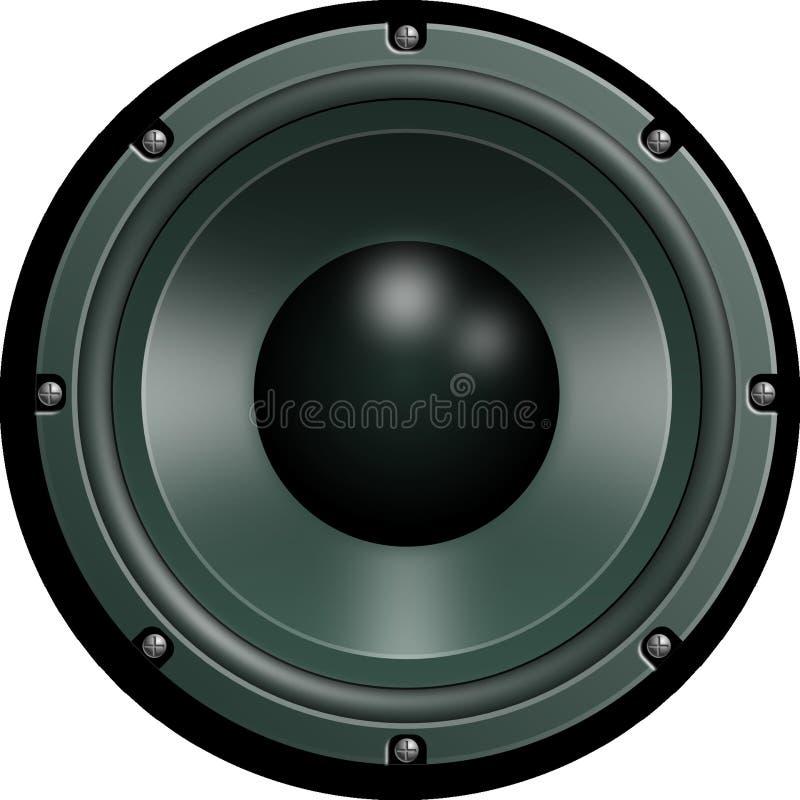 Auto Subwoofer, Luidspreker, Audio, Subwoofer stock fotografie