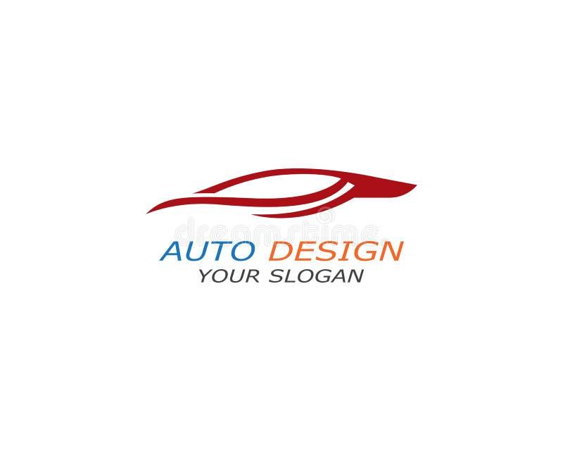 Auto symbol f?r bilLogo Template vektor vektor illustrationer