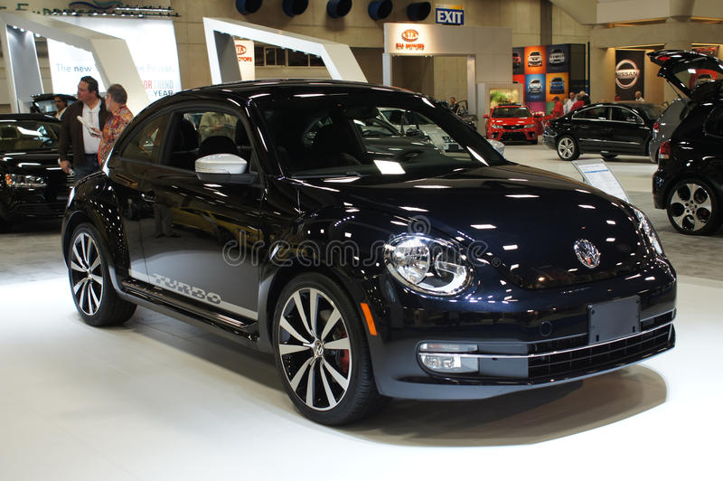 Auto toon VW Turbo stock foto's