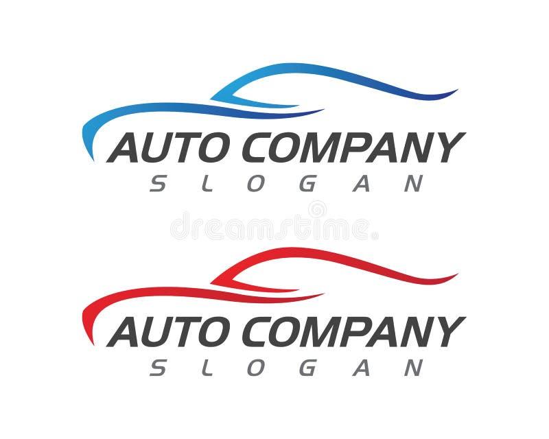 Auto vector de illustratieontwerp van Autologo template stock illustratie