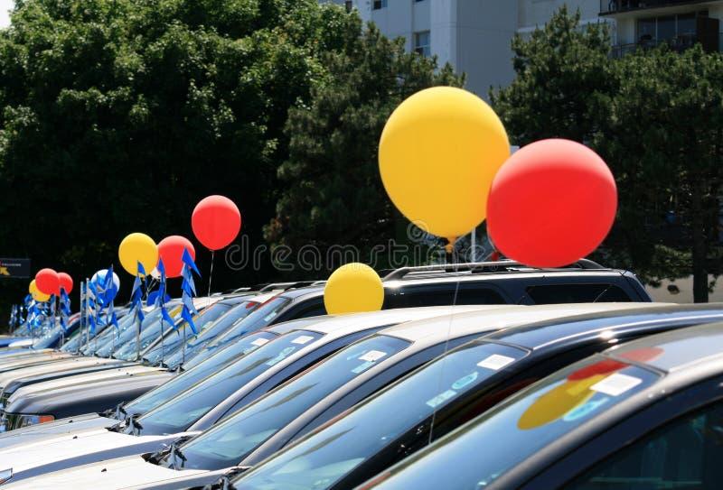 Auto Verkoop royalty-vrije stock afbeeldingen
