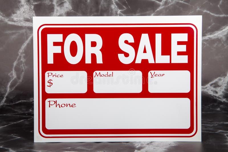 Auto voor verkoop stock afbeeldingen