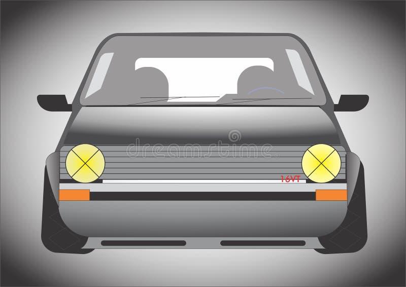 Auto 16vt stock afbeelding