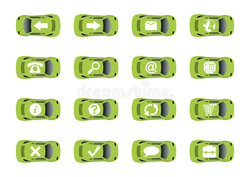Download Auto web icons 1 stock vector. Image of element, envelope - 4689054
