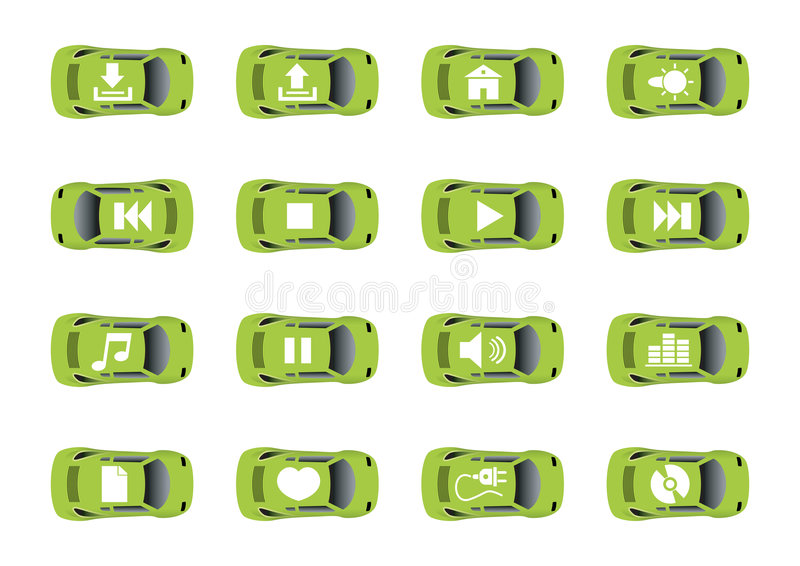 Download Auto web icons 2 stock vector. Image of illustration, finance - 4689148