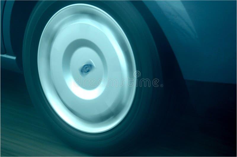 Auto Wielbeweging Stock Foto