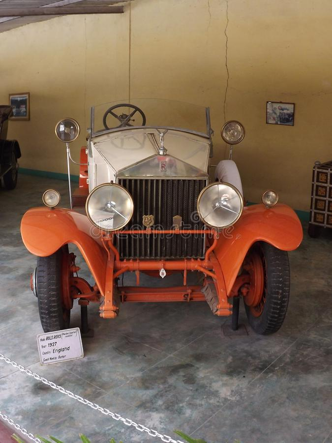 Auto World Vintage Car Museum, Ahmedabad, Gujarat. Auto World Vintage Car Museum at Ahmedabad, Gujarat, India royalty free stock photos