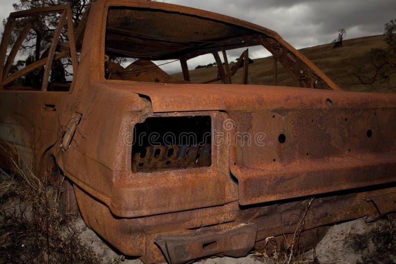 Auto-Wrack lizenzfreie stockfotografie