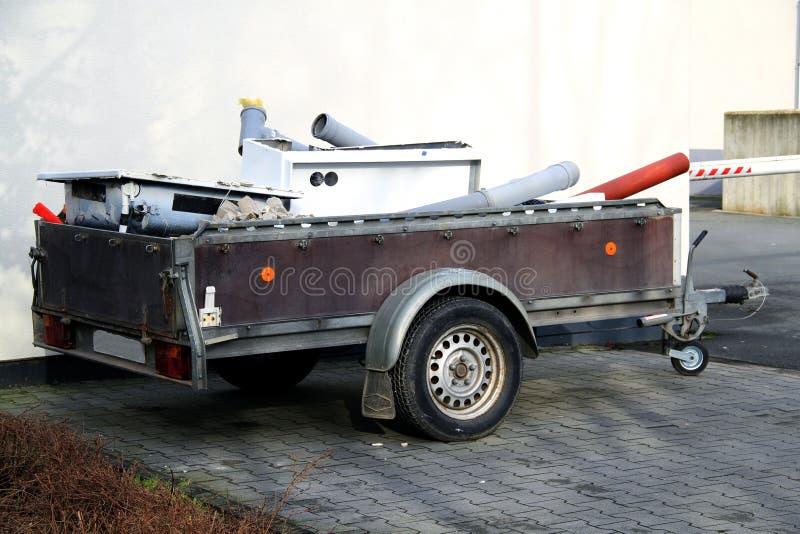 Autoaanhangwagen royalty-vrije stock afbeelding