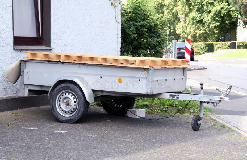 Autoaanhangwagen stock fotografie