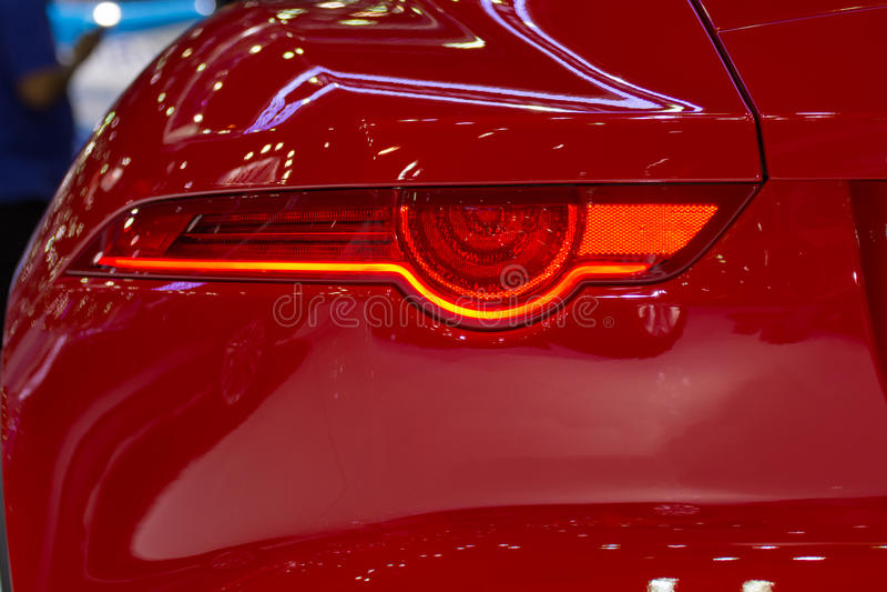 Autoachterlicht of achterlicht royalty-vrije stock afbeelding