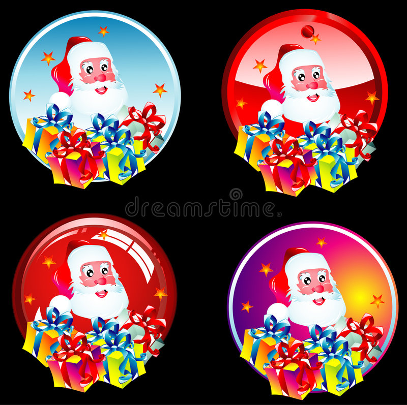 Download Autoadesivi della Santa illustrazione vettoriale. Illustrazione di telaio - 7309741