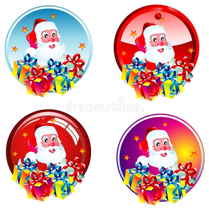 Download Autoadesivi della Santa illustrazione vettoriale. Illustrazione di festa - 7309756