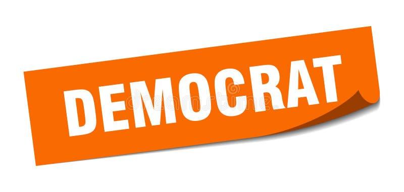 autoadesivo del democratico royalty illustrazione gratis