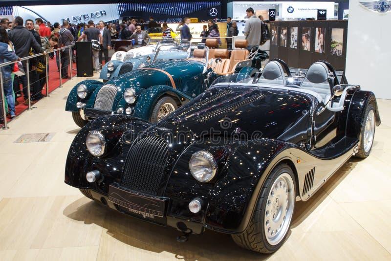 Autoausstellung Morgan Pluss 8 Genf 2015 lizenzfreie stockfotografie