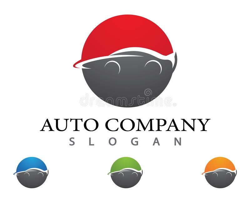 Autoauto vectorpictogram vector illustratie