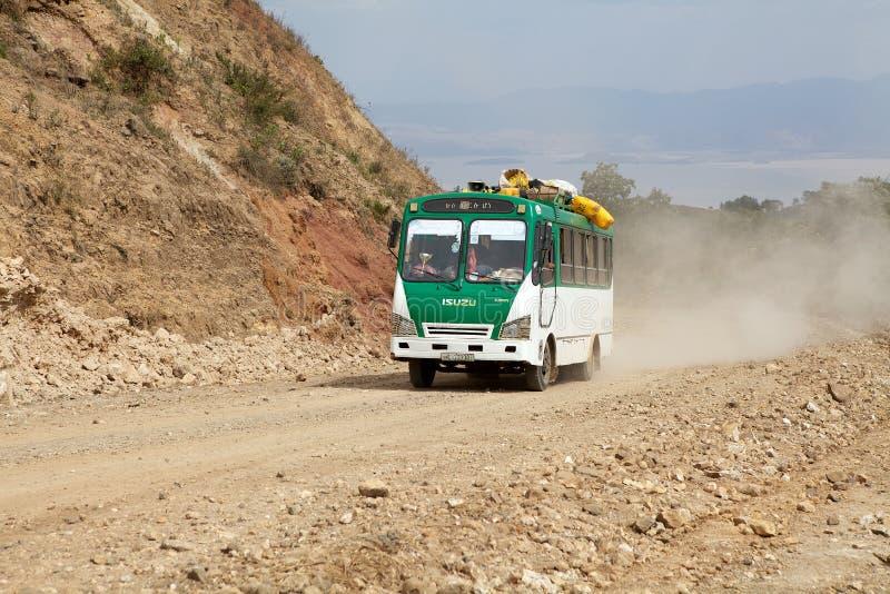 Autobús africano imagen de archivo libre de regalías
