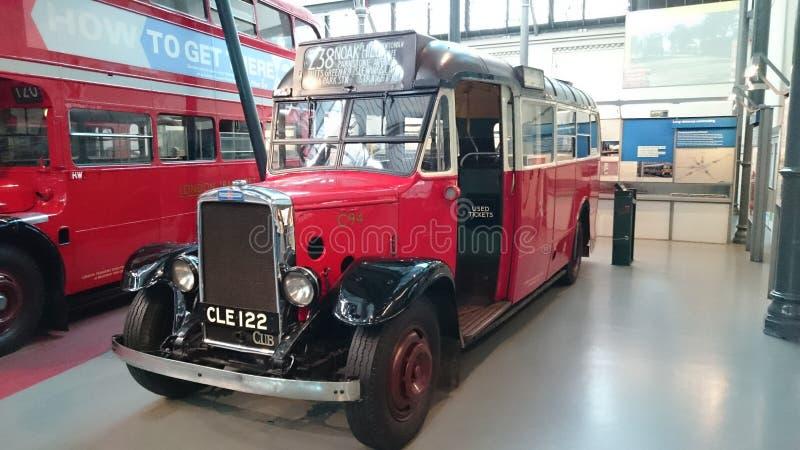 Autobús de británicos del vintage fotografía de archivo