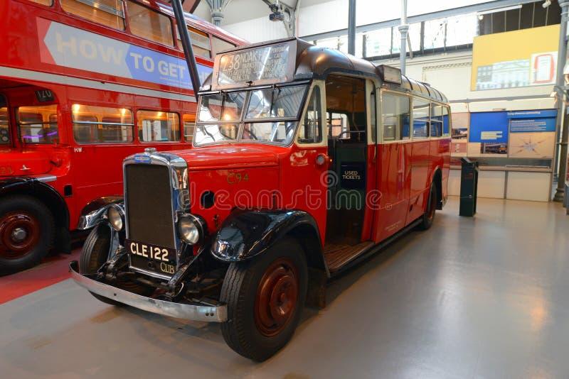 Autobús de británicos del vintage fotos de archivo libres de regalías