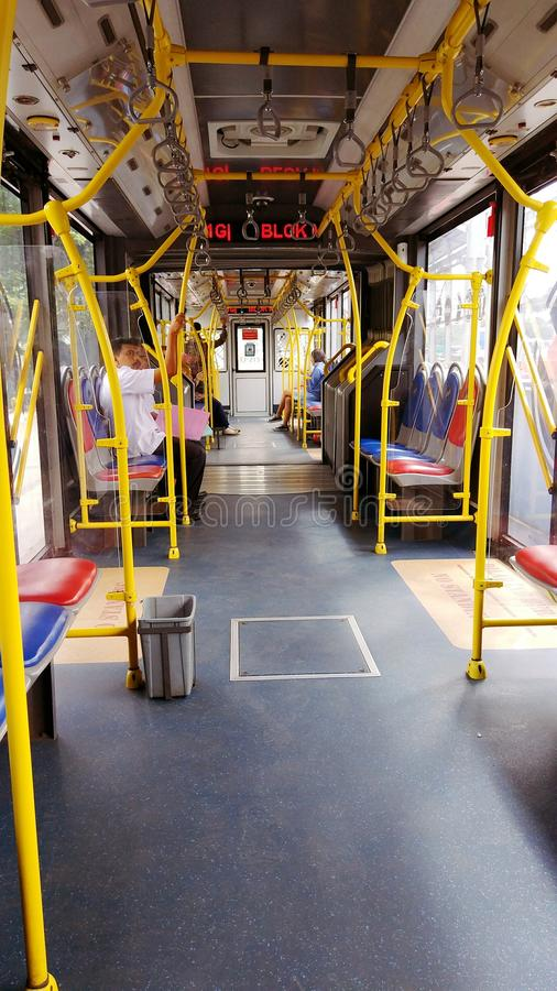 autobús de Jakarta foto de archivo libre de regalías