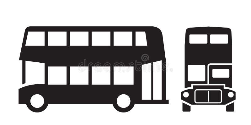 Autobús de Londres ilustración del vector
