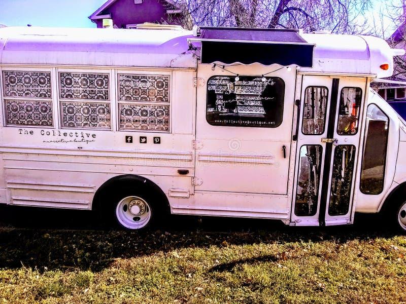 Autobús de Repurposed imagen de archivo