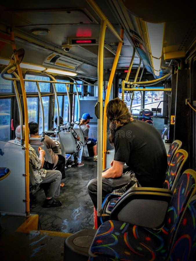 Autobús de STM imagen de archivo