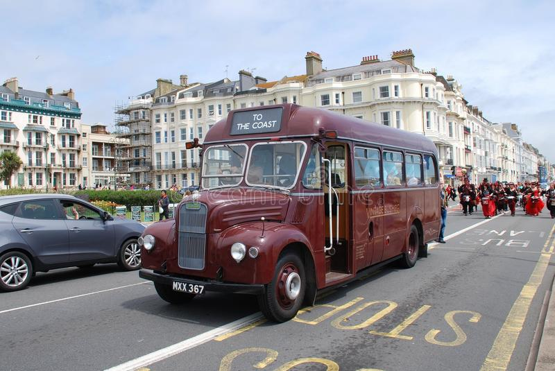 Autobús del vintage de Guy Special imágenes de archivo libres de regalías