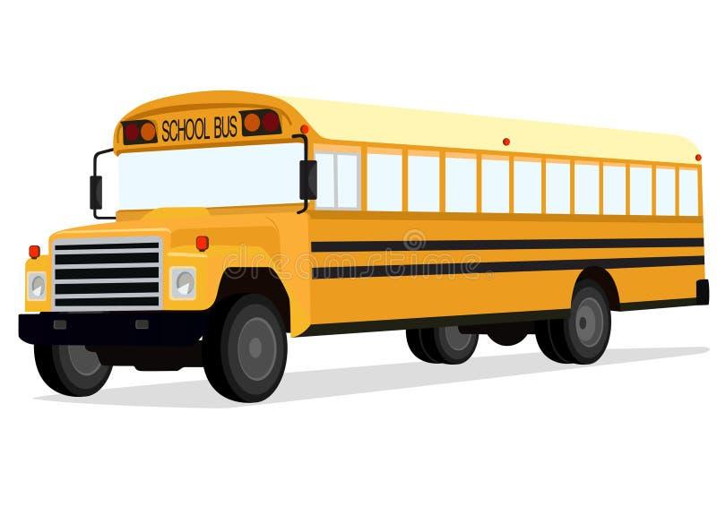 Autobús escolar stock de ilustración