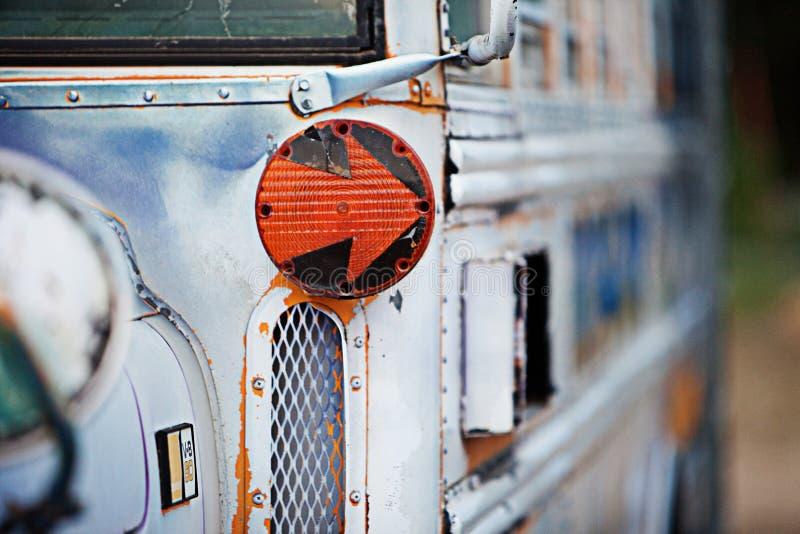 Autobús escolar viejo foto de archivo libre de regalías