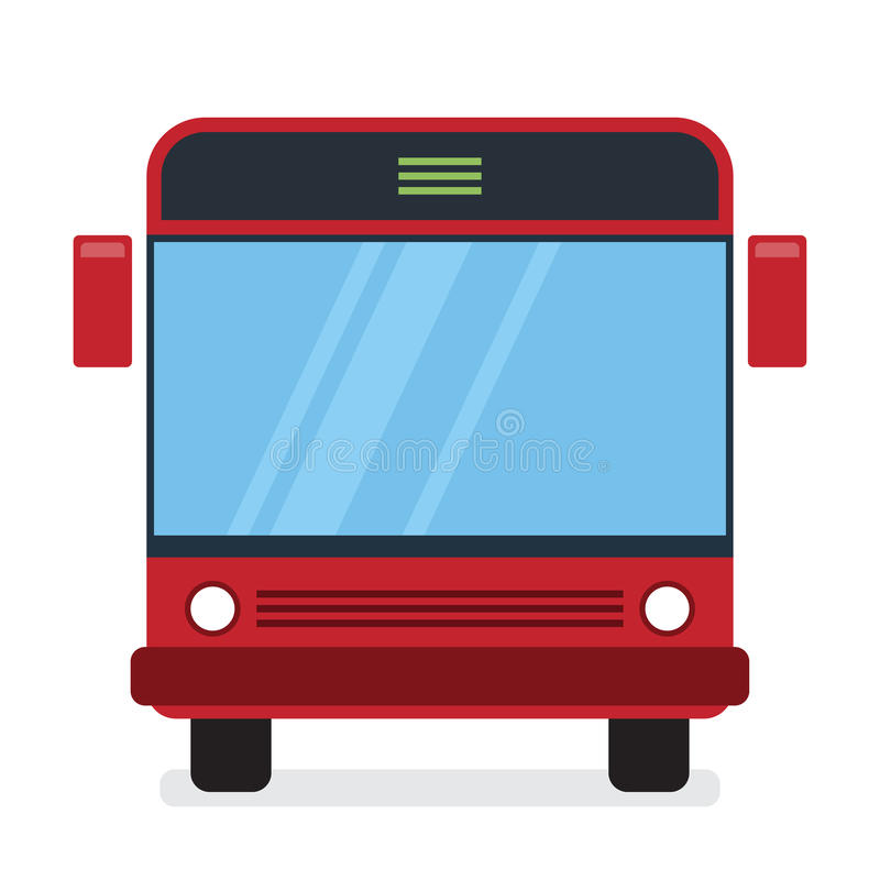 Autobús rojo libre illustration