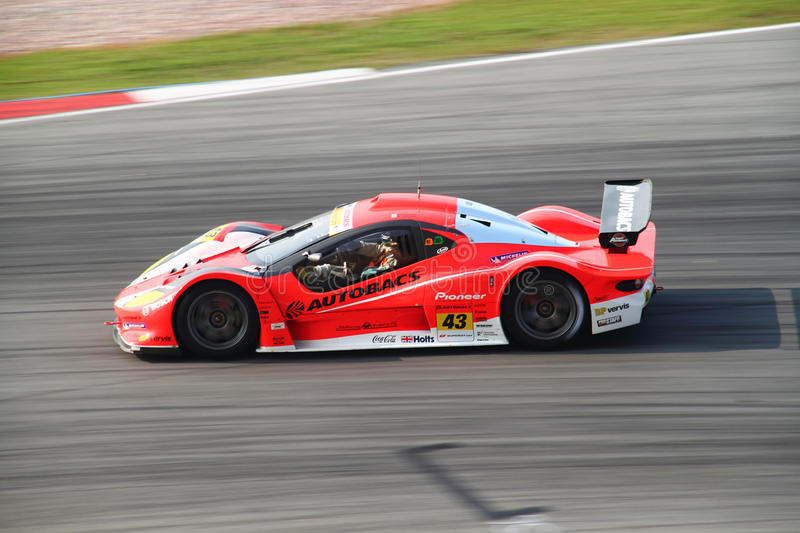 Download Autobacs Aguri 43, SuperGT 2010 Editorial Photo - Image: 14850251