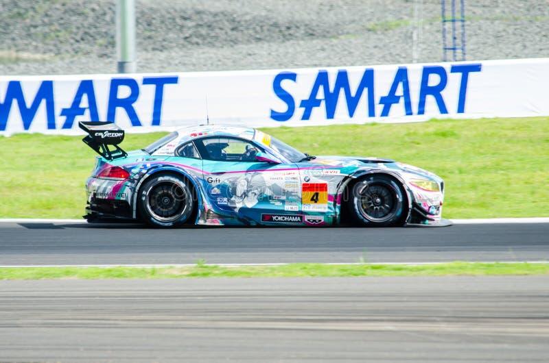 2014 Autobacs Super GT royalty-vrije stock fotografie