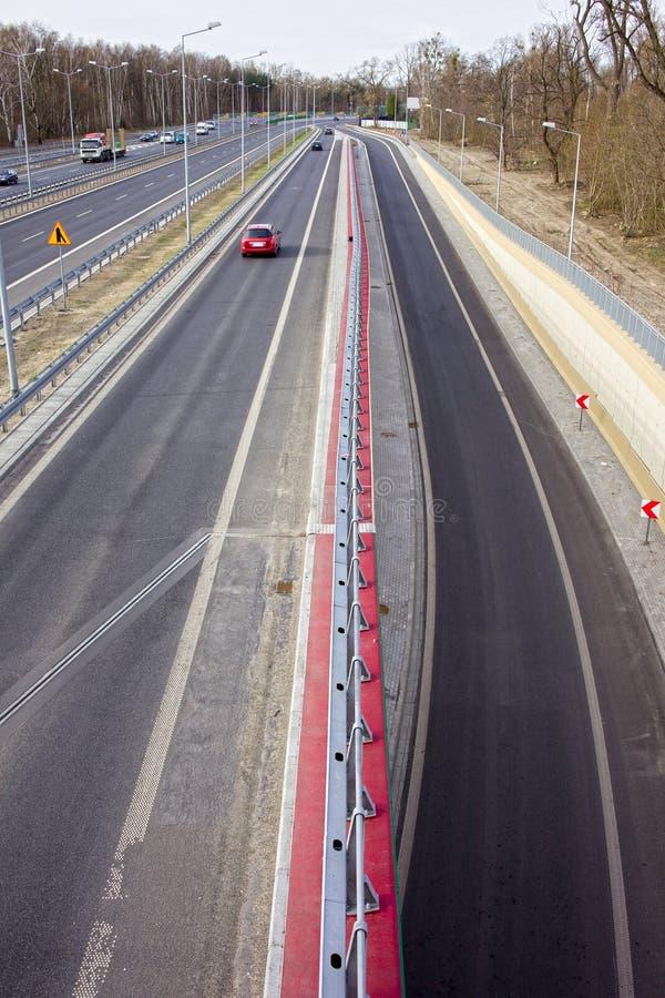 Autobahn lizenzfreie stockfotos