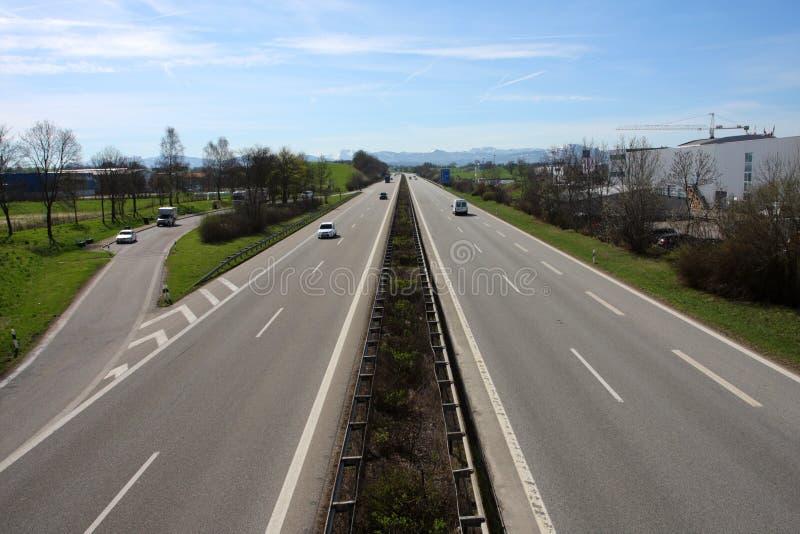 autobahn стоковые изображения rf