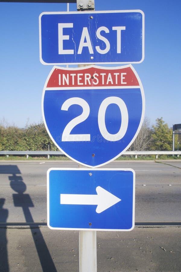 Autobahn 20 Ost stockfotos