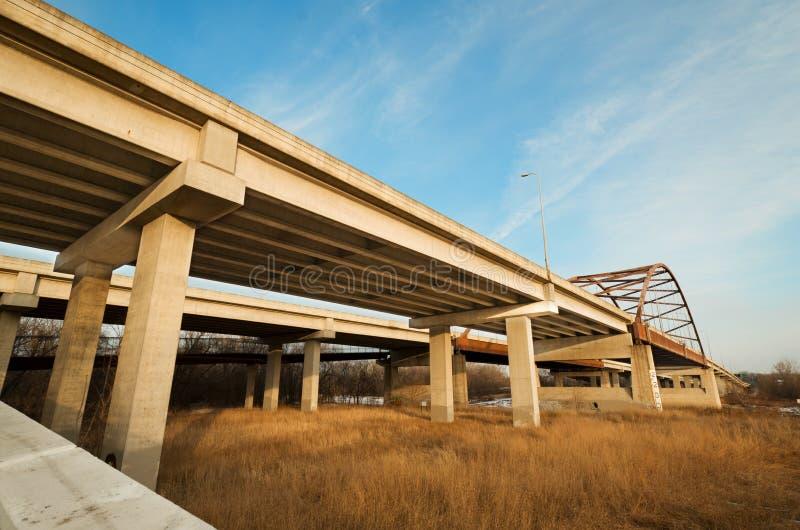 Autobahn lizenzfreies stockbild