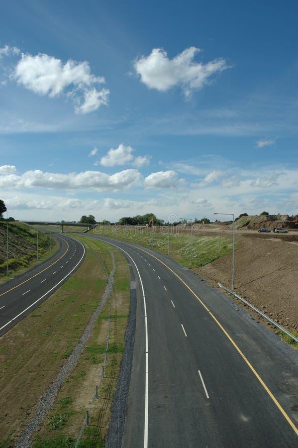 Autobahn lizenzfreie stockbilder