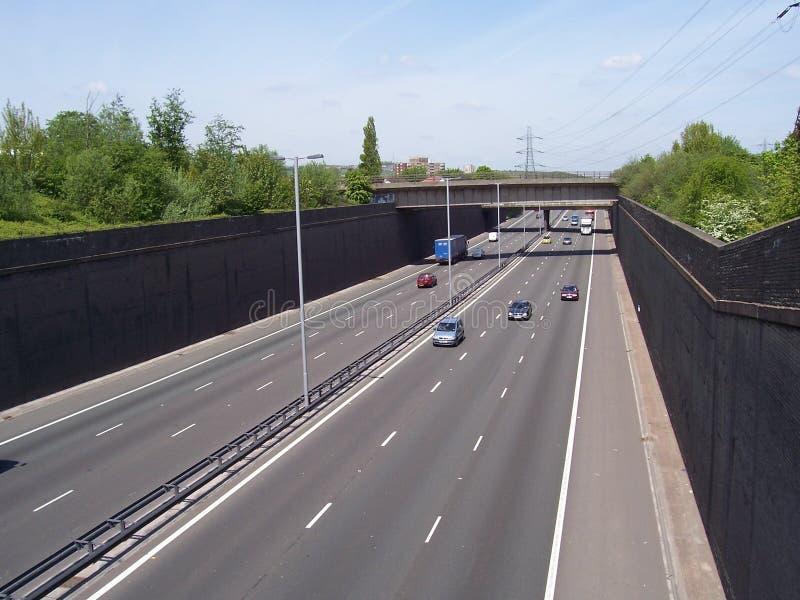 Autobahn lizenzfreie stockfotografie
