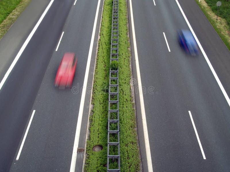 Autobahn stock foto